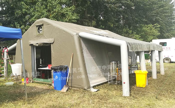 厨房炊事充气帐篷1