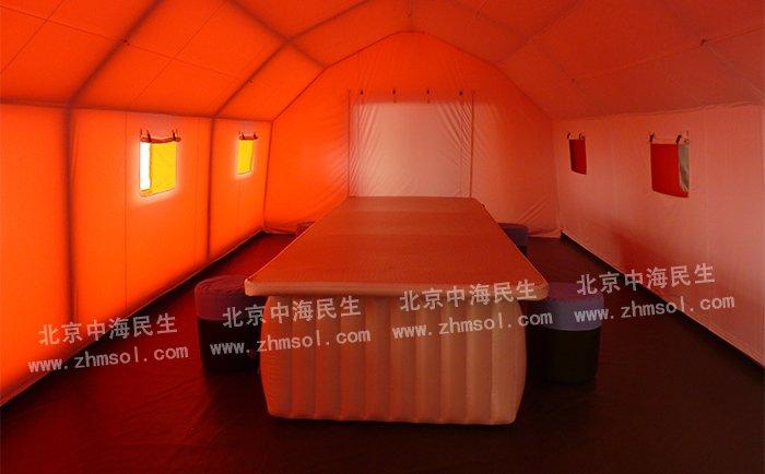 帐篷内部图1