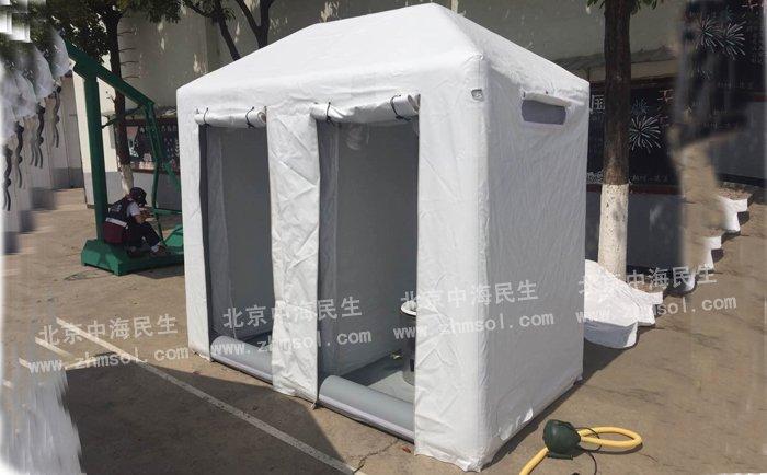 移动式充气帐篷厕所